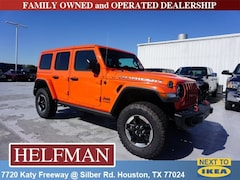 New 2018 Jeep Wrangler UNLIMITED RUBICON 4X4 Sport Utility 1C4HJXFN6JW247727 for Sale in Houston, TX at Helfman Dodge Chrysler Jeep Ram