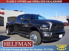 New 2018 Ram 3500 LARAMIE CREW CAB 4X4 8' BOX Crew Cab 3C63RRJL6JG429339 for Sale in Houston, TX at Helfman Dodge Chrysler Jeep Ram