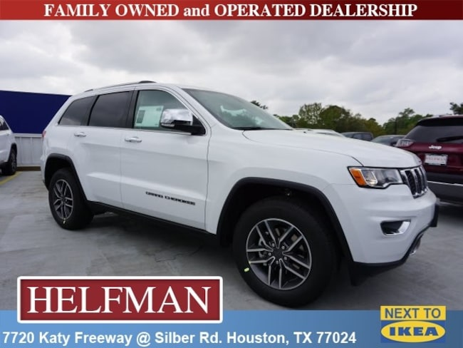 New 2019 Jeep Grand Cherokee LIMITED 4X2 Sport Utility for Sale in Houston, TX at Helfman Dodge Chrysler Jeep Ram