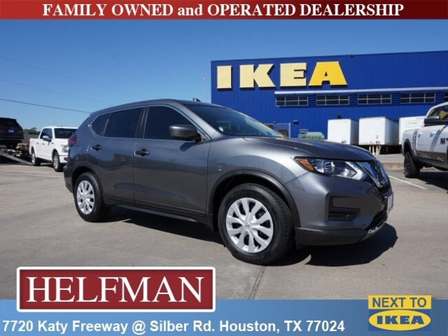 Used 2018 Nissan Rogue S SUV for Sale in Houston, TX at Helfman Dodge Chrysler Jeep Ram