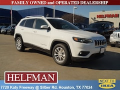 New 2019 Jeep Cherokee LATITUDE FWD Sport Utility 1C4PJLCB8KD344679 for Sale in Houston, TX at Helfman Dodge Chrysler Jeep Ram