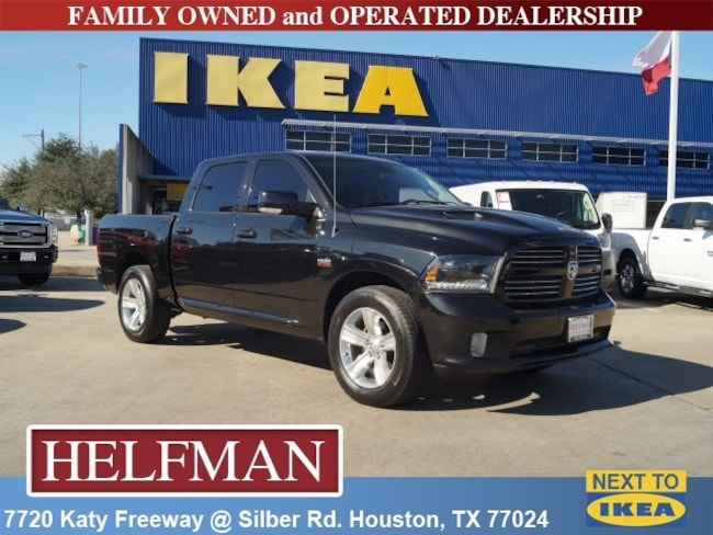 Used 2015 Ram 1500 Sport Truck Crew Cab for Sale in Houston, TX at Helfman Dodge Chrysler Jeep Ram