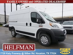 New 2019 Ram ProMaster 1500 CARGO VAN HIGH ROOF 136 WB Cargo Van for Sale in Houston, TX at Helfman Dodge Chrysler Jeep Ram