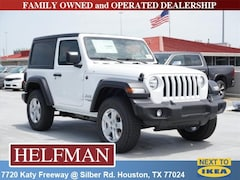 New 2018 Jeep Wrangler SPORT S 4X4 Sport Utility 1C4GJXAG2JW140887 for Sale in Houston, TX at Helfman Dodge Chrysler Jeep Ram