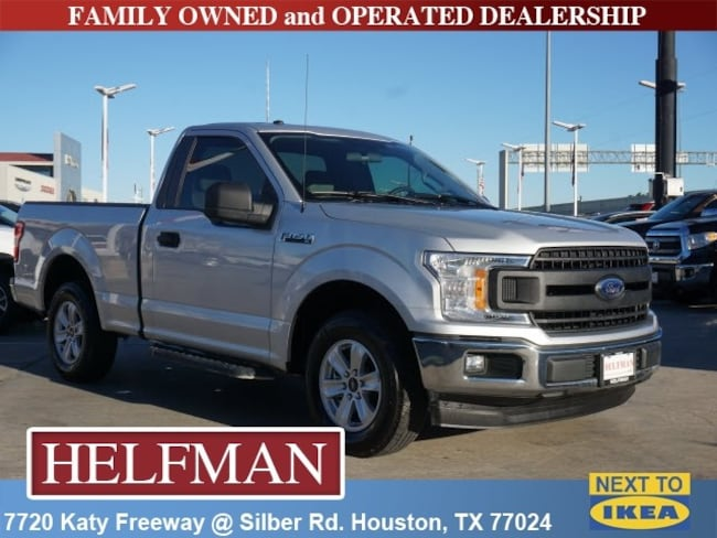 Used 2018 Ford F-150 Truck Regular Cab for Sale in Houston, TX at Helfman Dodge Chrysler Jeep Ram