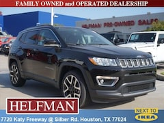 New 2018 Jeep Compass LIMITED FWD Sport Utility 3C4NJCCB7JT461086 for Sale in Houston, TX at Helfman Dodge Chrysler Jeep Ram
