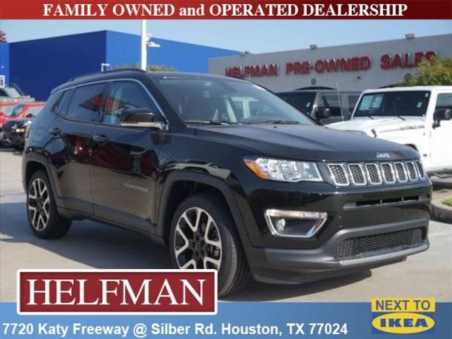 New 2018 Jeep Compass LIMITED FWD Sport Utility for Sale in Houston, TX at Helfman Dodge Chrysler Jeep Ram