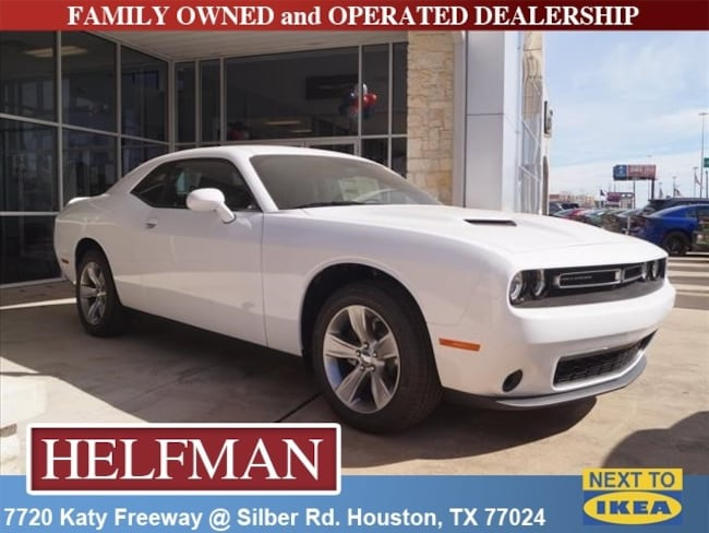 New 2018 Dodge Challenger SXT Coupe for Sale in Houston, TX at Helfman Dodge Chrysler Jeep Ram