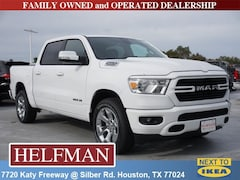 New 2019 Ram 1500 BIG HORN / LONE STAR CREW CAB 4X2 5'7 BOX Crew Cab 1C6RREFT1KN705348 for Sale in Houston, TX at Helfman Dodge Chrysler Jeep Ram