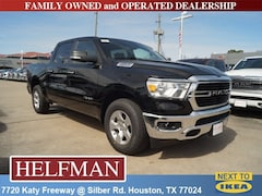 New 2019 Ram 1500 BIG HORN / LONE STAR CREW CAB 4X2 5'7 BOX Crew Cab 1C6RREFG9KN763842 for Sale in Houston, TX at Helfman Dodge Chrysler Jeep Ram