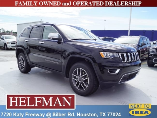 New 2019 Jeep Grand Cherokee LIMITED 4X4 Sport Utility for Sale in Houston, TX at Helfman Dodge Chrysler Jeep Ram