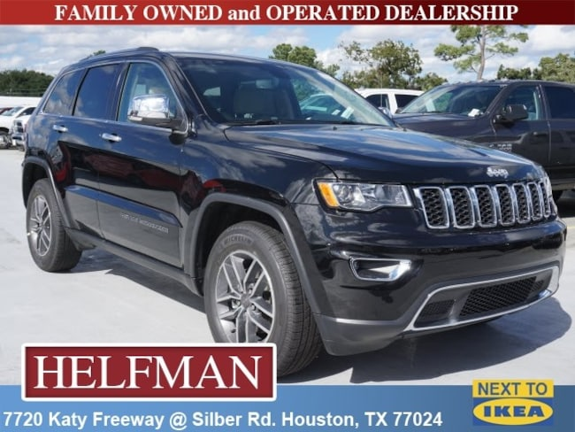New 2019 Jeep Grand Cherokee Limited 4x2 For Sale In Houston Near