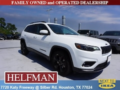 New 2019 Jeep Cherokee ALTITUDE FWD Sport Utility 1C4PJLLB3KD405274 for Sale in Houston, TX at Helfman Dodge Chrysler Jeep Ram