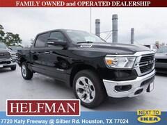 New 2019 Ram 1500 BIG HORN / LONE STAR CREW CAB 4X2 5'7 BOX Crew Cab 1C6RREFT7KN806085 for Sale in Houston, TX at Helfman Dodge Chrysler Jeep Ram