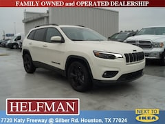 New 2019 Jeep Cherokee ALTITUDE FWD Sport Utility 1C4PJLLB8KD381800 for Sale in Houston, TX at Helfman Dodge Chrysler Jeep Ram