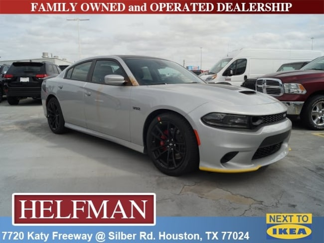 New 2019 Dodge Charger SCAT PACK RWD Sedan for Sale in Houston, TX at Helfman Dodge Chrysler Jeep Ram