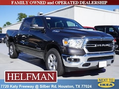 New 2019 Ram 1500 BIG HORN / LONE STAR CREW CAB 4X2 5'7 BOX Crew Cab 1C6RREFG7KN705339 for Sale in Houston, TX at Helfman Dodge Chrysler Jeep Ram