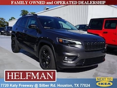 New 2019 Jeep Cherokee ALTITUDE FWD Sport Utility 1C4PJLLB2KD373370 for Sale in Houston, TX at Helfman Dodge Chrysler Jeep Ram