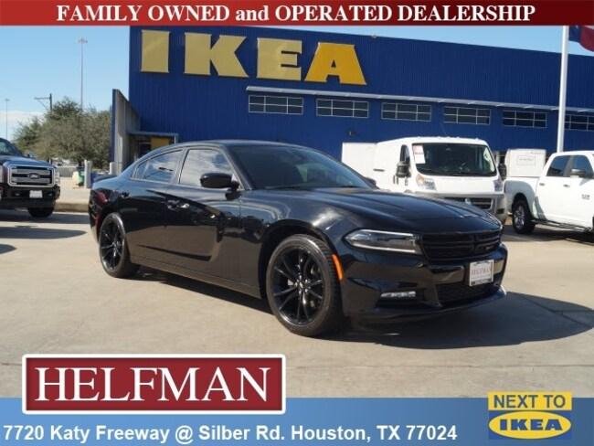 Used 2018 Dodge Charger SXT Plus Sedan for Sale in Houston, TX at Helfman Dodge Chrysler Jeep Ram