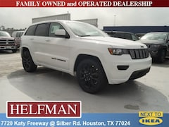 New 2019 Jeep Grand Cherokee ALTITUDE 4X2 Sport Utility 1C4RJEAGXKC672887 for Sale in Houston, TX at Helfman Dodge Chrysler Jeep Ram