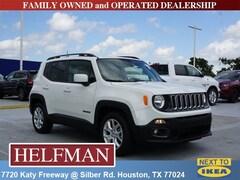 New 2018 Jeep Renegade LATITUDE 4X2 Sport Utility ZACCJABB2JPJ15576 for Sale in Houston, TX at Helfman Dodge Chrysler Jeep Ram