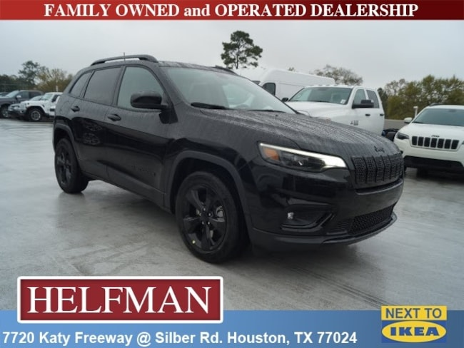 New 2019 Jeep Cherokee ALTITUDE FWD Sport Utility for Sale in Houston, TX at Helfman Dodge Chrysler Jeep Ram