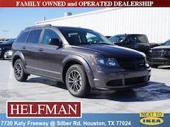 New 2018 Dodge Journey SE Sport Utility 3C4PDCAB9JT530671 for Sale in Houston, TX at Helfman Dodge Chrysler Jeep Ram