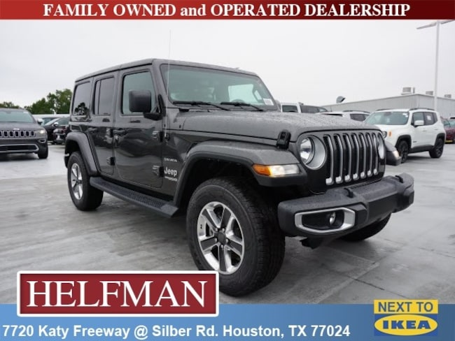 New 2018 Jeep Wrangler UNLIMITED SAHARA 4X4 Sport Utility for Sale in Houston, TX at Helfman Dodge Chrysler Jeep Ram