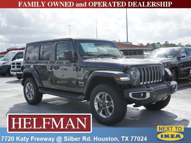 New 2018 Jeep Wrangler UNLIMITED SAHARA 4X4 Sport Utility For Sale In  Houston, TX At