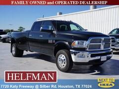 New 2018 Ram 3500 LARAMIE CREW CAB 4X4 8' BOX Crew Cab 3C63RRJL6JG429485 for Sale in Houston, TX at Helfman Dodge Chrysler Jeep Ram