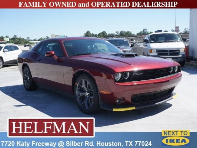 New 2019 Dodge Challenger R/T Coupe for Sale in Houston, TX at Helfman Dodge Chrysler Jeep Ram
