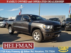 New 2019 Ram 1500 BIG HORN / LONE STAR CREW CAB 4X2 5'7 BOX Crew Cab 1C6RREFG6KN705333 for Sale in Houston, TX at Helfman Dodge Chrysler Jeep Ram