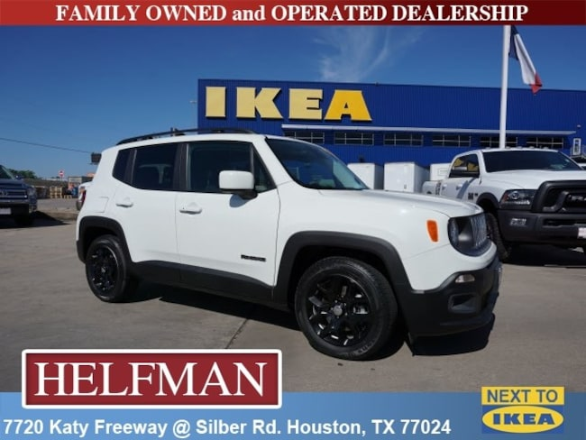 Used 2016 Jeep Renegade Latitude FWD SUV for Sale in Houston, TX at Helfman Dodge Chrysler Jeep Ram