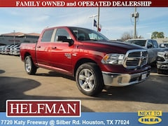 New 2019 Ram 1500 BIG HORN / LONE STAR CREW CAB 4X2 5'7 BOX Crew Cab 1C6RREFT2KN705343 for Sale in Houston, TX at Helfman Dodge Chrysler Jeep Ram