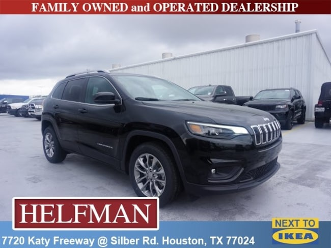 New 2019 Jeep Cherokee LATITUDE PLUS FWD Sport Utility for Sale in Houston, TX at Helfman Dodge Chrysler Jeep Ram
