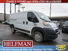 New 2019 Ram ProMaster 1500 CARGO VAN LOW ROOF 136 WB Cargo Van for Sale in Houston, TX at Helfman Dodge Chrysler Jeep Ram