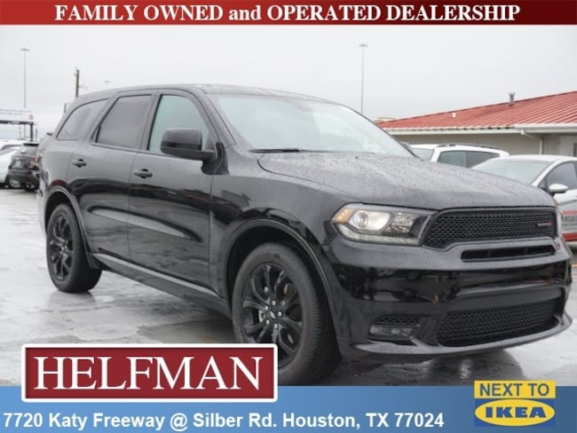 New 2019 Dodge Durango GT RWD Sport Utility for Sale in Houston, TX at Helfman Dodge Chrysler Jeep Ram