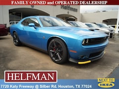 New 2019 Dodge Challenger R/T SCAT PACK Coupe 2C3CDZFJ7KH561871 for Sale in Houston, TX at Helfman Dodge Chrysler Jeep Ram