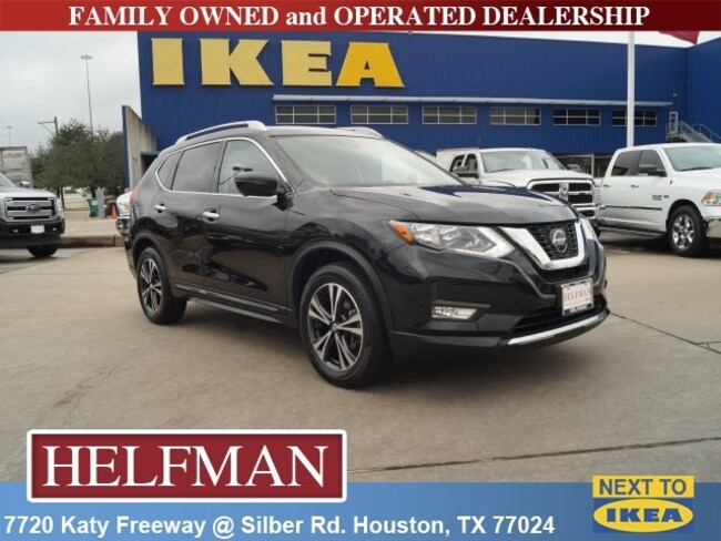 Used 2018 Nissan Rogue SL SUV for Sale in Houston, TX at Helfman Dodge Chrysler Jeep Ram