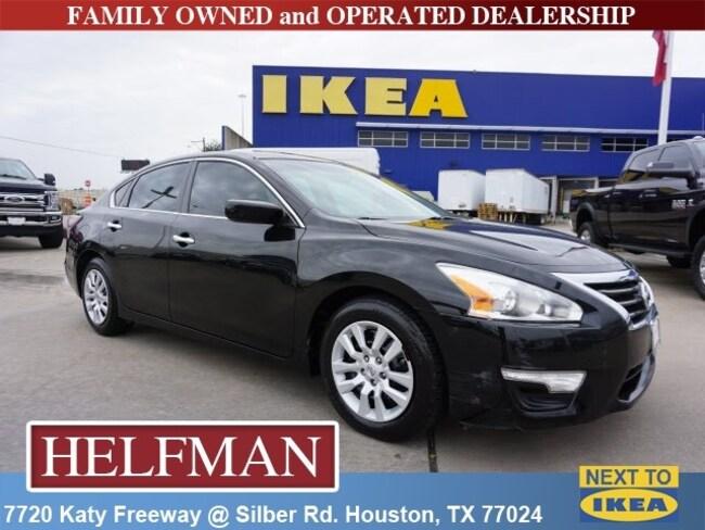 Used 2015 Nissan Altima 2.5 S Sedan for Sale in Houston, TX at Helfman Dodge Chrysler Jeep Ram