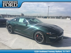 New 2019 Ford Mustang Bullitt Coupe 1FA6P8K05K5502760 for Sale in Stafford, TX at Helfman Ford