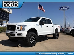 New 2019 Ford F-150 STX Truck 1FTEW1E54KKC30730 for Sale in Stafford, TX at Helfman Ford