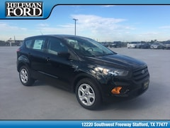 New 2019 Ford Escape S SUV 1FMCU0F70KUA79053 for Sale in Stafford, TX at Helfman Ford
