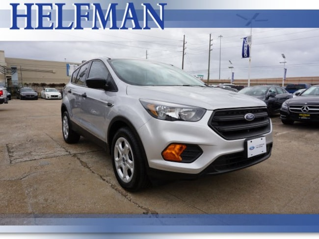 Certified 2018 Ford Escape S SUV for Sale in Stafford, TX at Helfman Ford