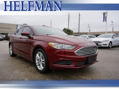 Used 2018 Ford Fusion SE Sedan 3FA6P0HD1JR149943 for Sale in Stafford, TX at Helfman Ford