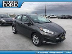 New 2019 Ford Fiesta SE Hatchback 3FADP4EJ1KM132213 for Sale in Stafford, TX at Helfman Ford
