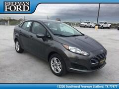 New 2019 Ford Fiesta SE Sedan 3FADP4BJXKM135292 for Sale in Stafford, TX at Helfman Ford