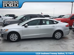 New 2019 Ford Fusion S Sedan 3FA6P0G74KR132597 for Sale in Stafford, TX at Helfman Ford