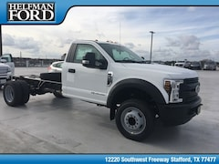 New 2019 Ford Chassis Cab F-550 XL Commercial-truck 1FDUF5GT3KDA10624 for Sale in Stafford, TX at Helfman Ford
