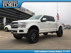New 2018 Ford F-150 Platinum Truck 1FTEW1EG7JFE46581 for Sale in Stafford, TX at Helfman Ford